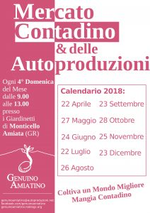Mercato Contadino di Genuino Amiatino, Monte Amiata